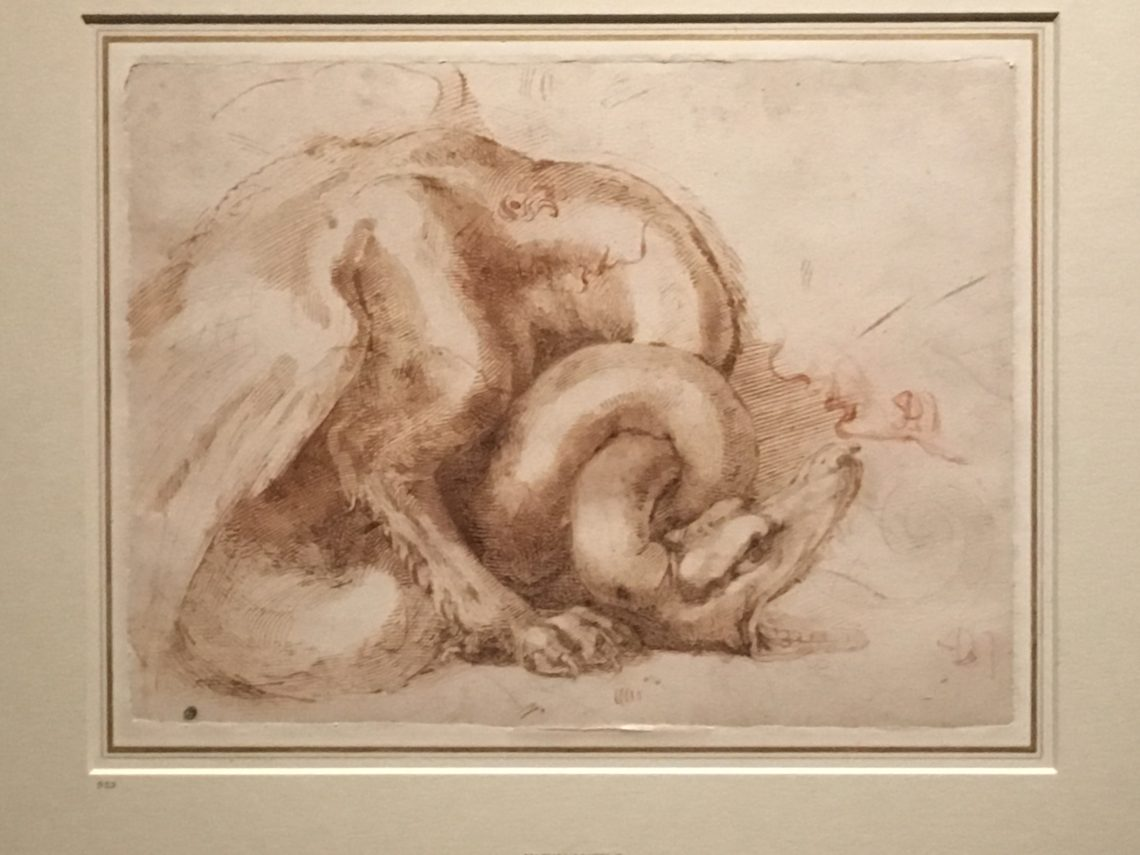 "A Reaction to The Metropolitan Museum of Art's exhibit ""Michelangelo: Divine Draftsman & Designer"" – Christina Carlson"